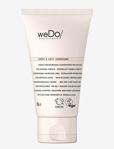 weDo Professional Light & Soft Conditioner 75ml - balsam - no colour