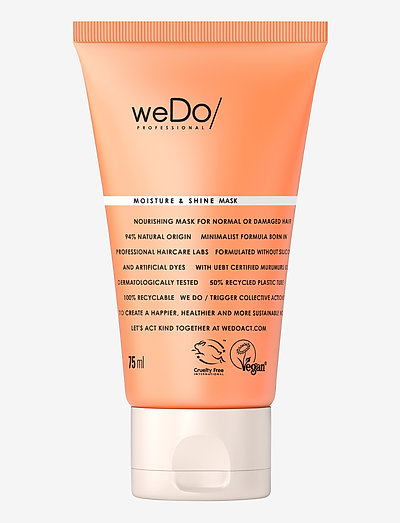 weDo Professional Moisture & Shine Hair Mask 75ml - hårmasker - no colour