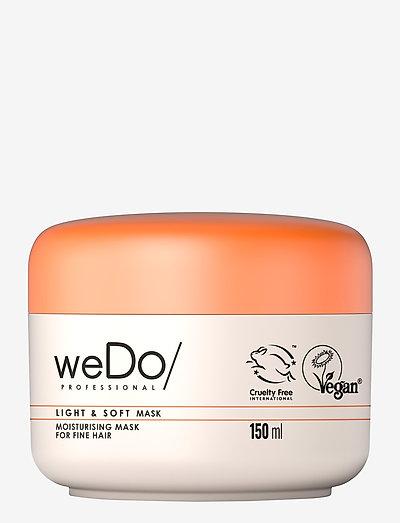 weDo Professional Light & Soft Hair Mask 150ml - hårmasker - no colour