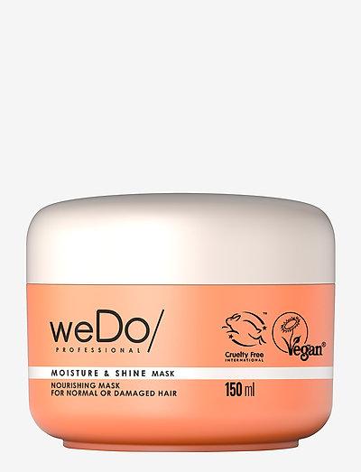 weDo Professional Moisture & Shine Hair Mask 150ml - hårmasker - no colour