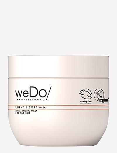 weDo Professional Light & Soft Hair Mask 400ml - hårmasker - no colour