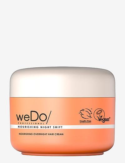 weDo  Nourishing Night Shift Overnight Treatment 90ml - hårmasker - no colour