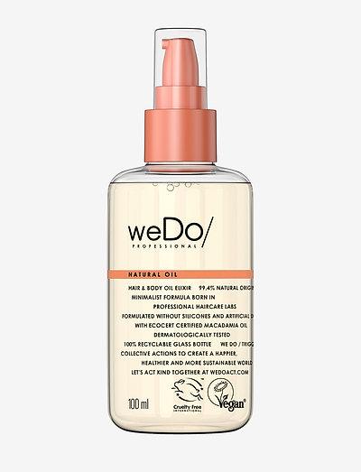 weDo Professional Natural Hair & Body Oil Elixir 100ml - håroljor - no colour