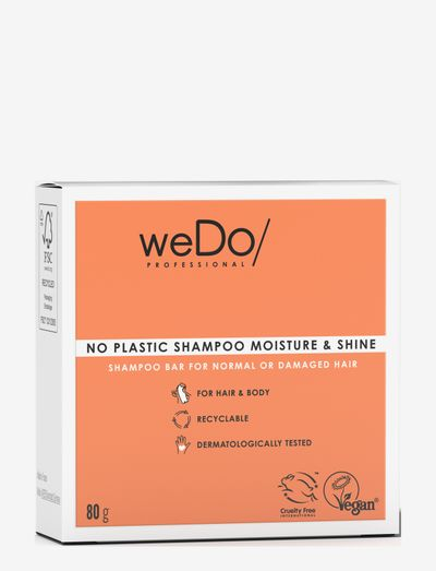 weDo Professional Shampoo Bar 80g - shampo - no colour