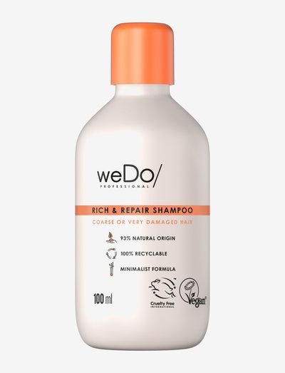 weDo Professional Rich & Repair shampoo 100ml - shampoo - no colour