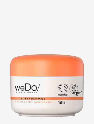 weDo Professional Rich & Repair Mask 150ml - hårmasker - no colour