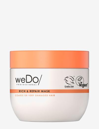 weDo Professional Rich & Repair Mask 400ml - hårmasker - no colour