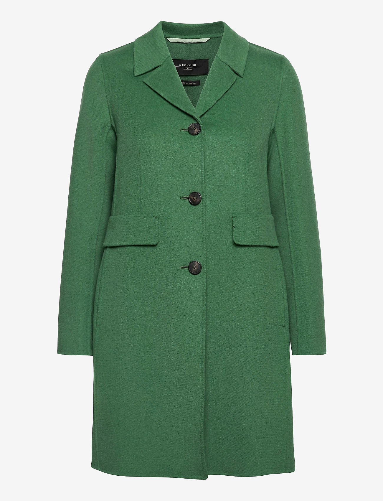Weekend Max Mara - SPIGOLA - wollen jassen - sage green - 0
