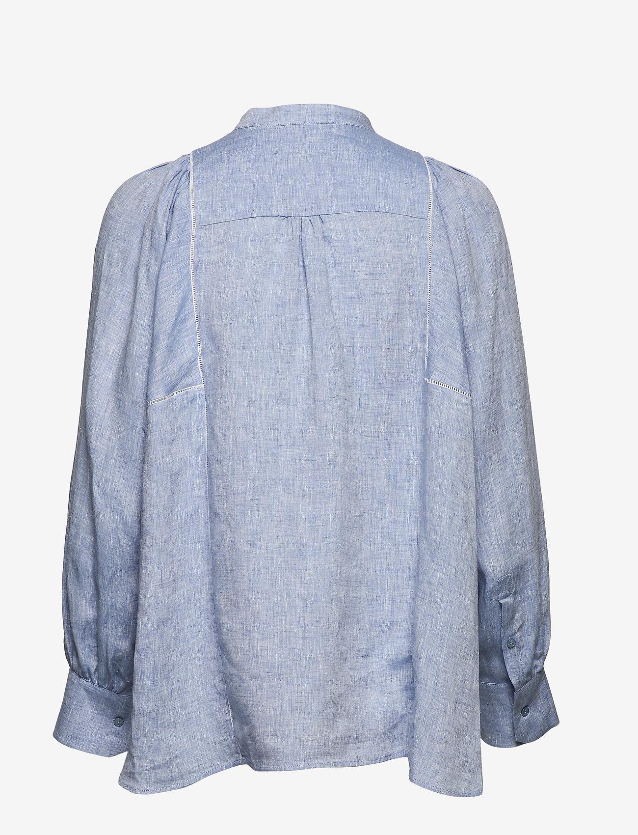 Weekend Max Mara - MALAGA - chemises à manches longues - light blue