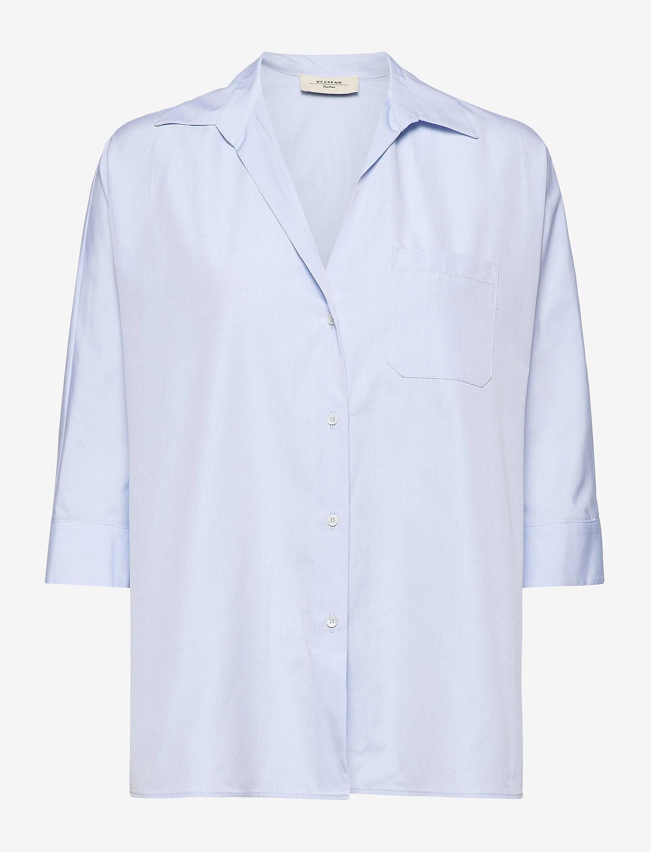 Weekend Max Mara - ERSILIA - chemises à manches longues - light blue - 0