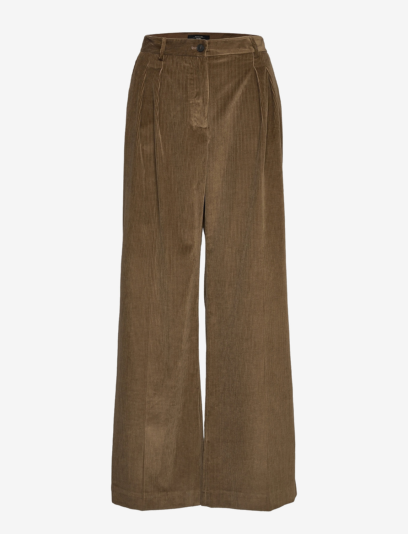 Weekend Max Mara - BELLA - bukser med brede ben - mud - 0