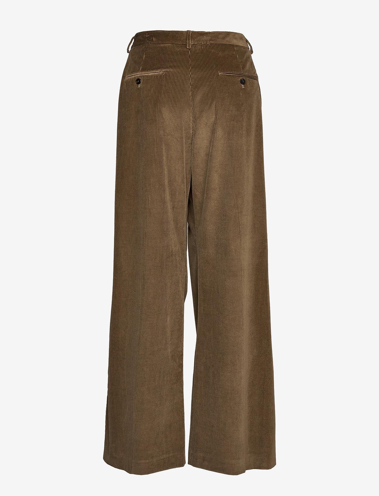 Weekend Max Mara - BELLA - bukser med brede ben - mud - 1