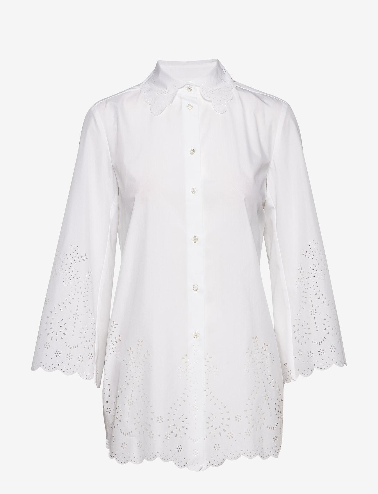 Weekend Max Mara - VALLO - chemises à manches longues - optical white