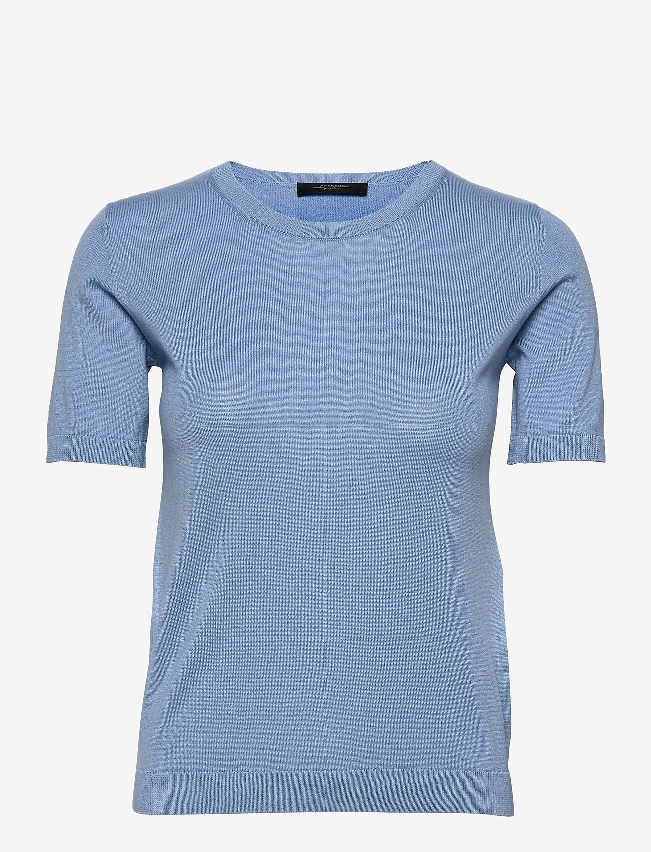 Weekend Max Mara - CAIRO - gebreide t-shirts - light blue - 0