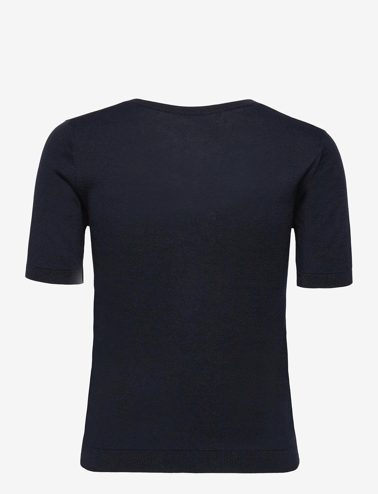 Weekend Max Mara - CAIRO - gebreide t-shirts - navy - 1