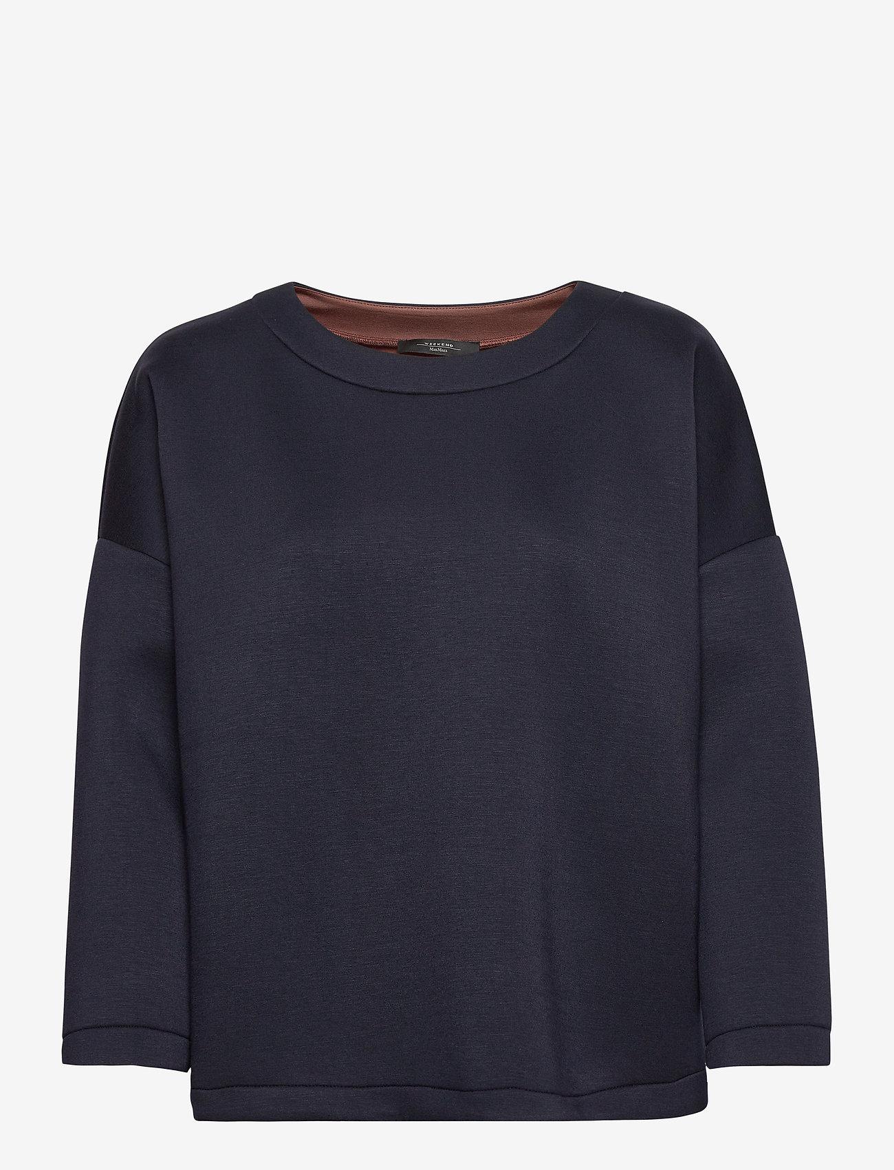 Weekend Max Mara - EDAM - sweatshirts - ultramarine - 0