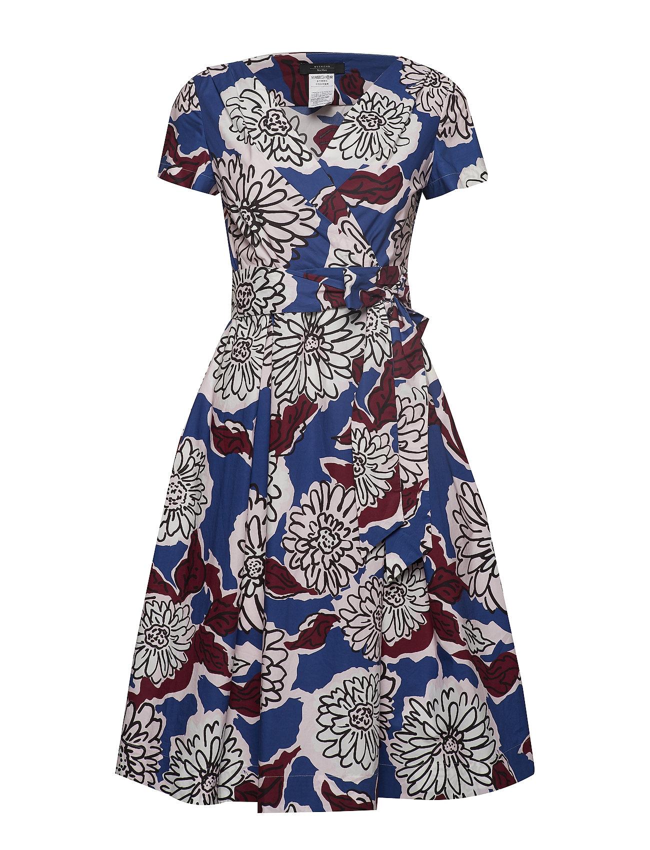 Weekend Max Mara ORONTE - CORNFLOWER BLUE DRESS