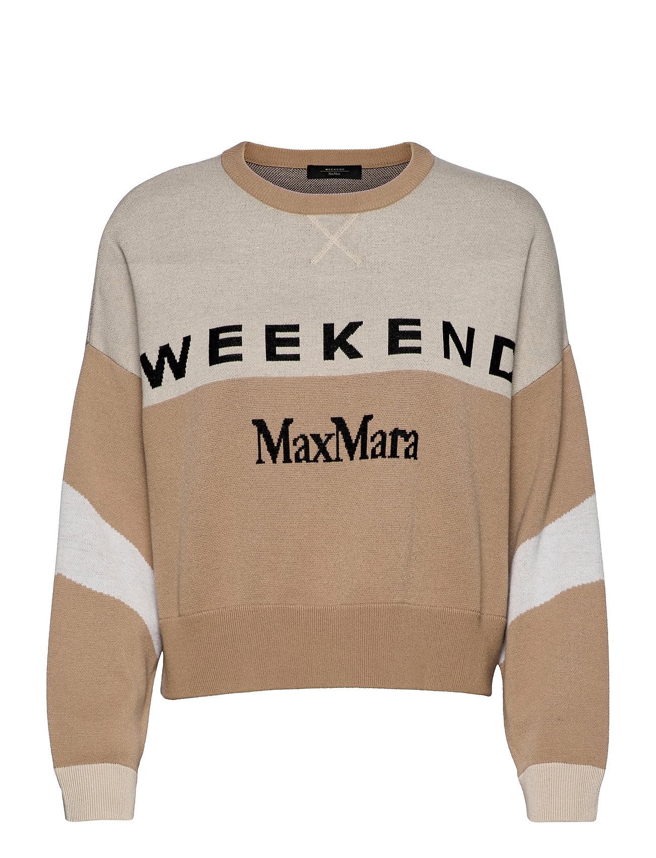 Paio Strikket Trøje Beige Weekend Max Mara