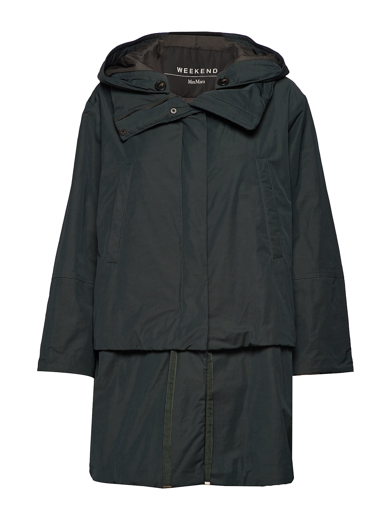 Weekend Max Mara CHARLES - DARK GREEN