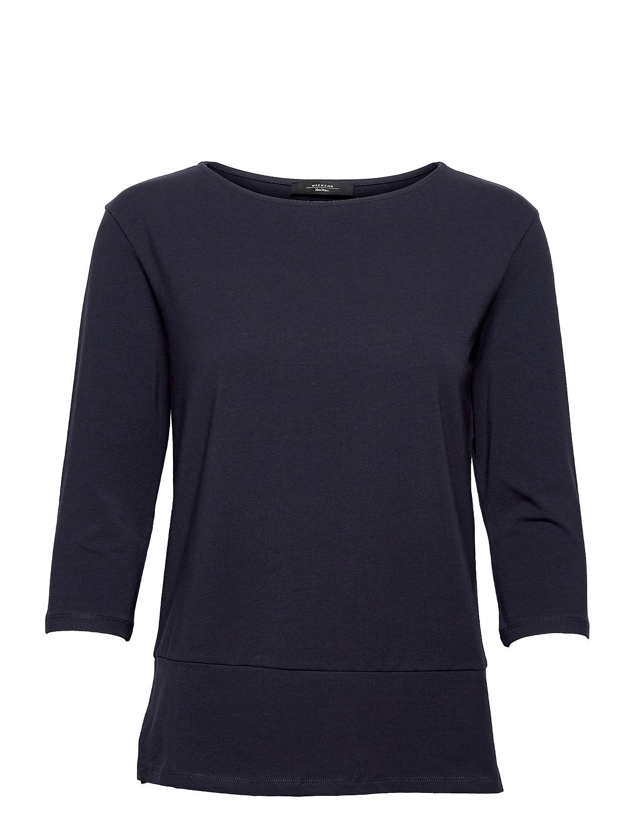 Multia Langærmet T-shirt Blå Weekend Max Mara
