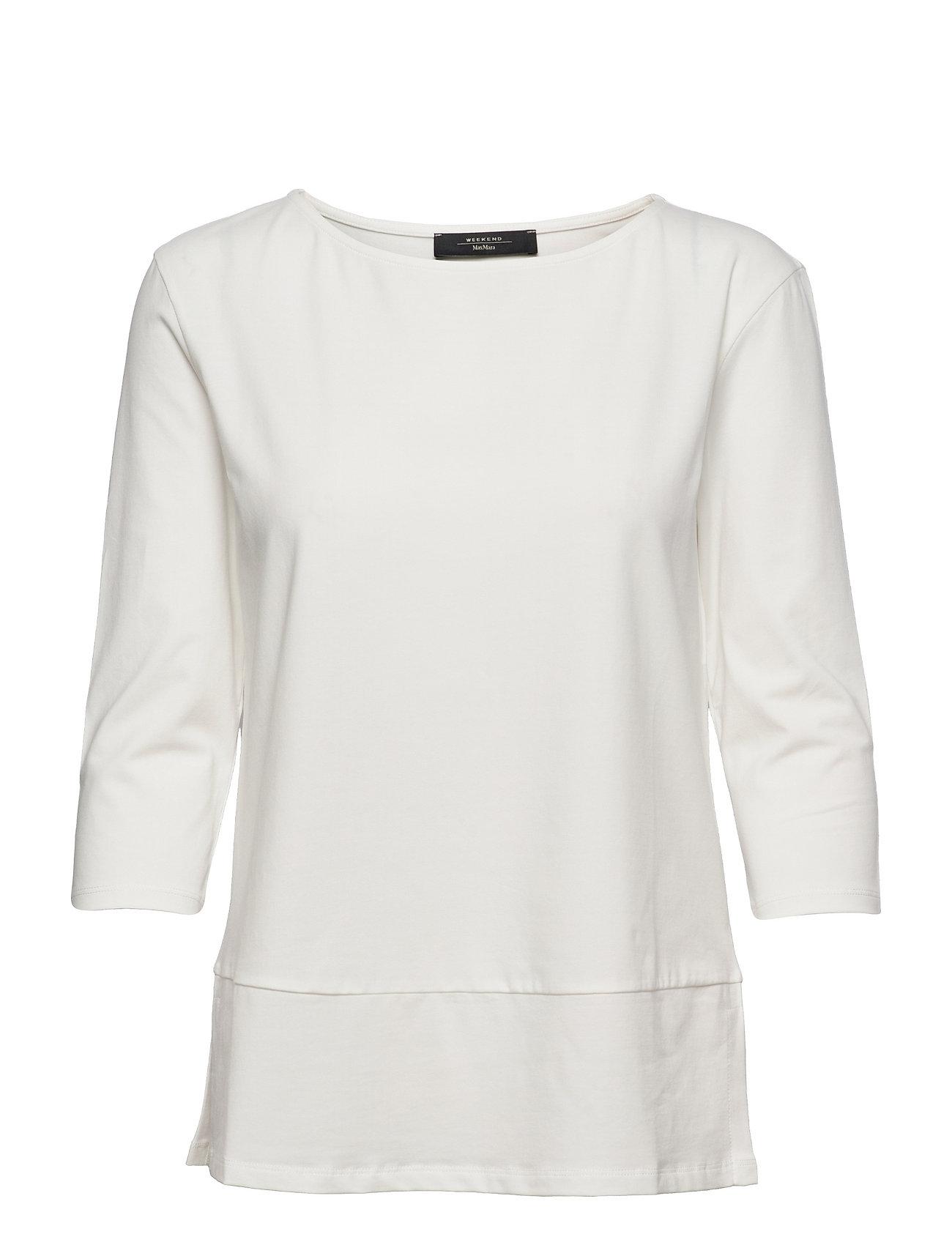 Multia Langærmet T-shirt Hvid Weekend Max Mara