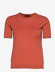 Weekend Max Mara - CAIRO - gebreide t-shirts - coral - 0