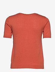 Weekend Max Mara - CAIRO - gebreide t-shirts - coral - 1