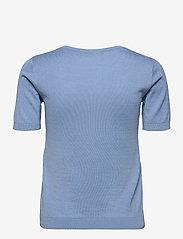 Weekend Max Mara - CAIRO - gebreide t-shirts - light blue - 1