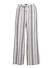BILLY - NAVY PINSTRIPES TROUSERS