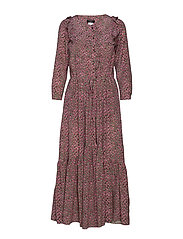 AGIATE - PINK FLOWER DRESS