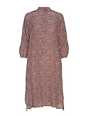 ARIO - PINK FLOWER DRESS