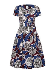 ORONTE - CORNFLOWER BLUE DRESS