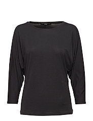 MULTIA - BLACK KNITTED BLOUSE