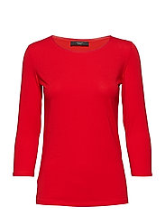 MULTIB - RED KNITTED BLOUSE