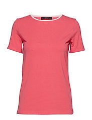 MULTIC - SHOCKING PINK KNITTED BLOUSE
