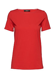 MULTIC - RED KNITTED BLOUSE