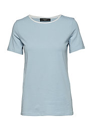 MULTIC - SKY BLUE KNITTED BLOUSE