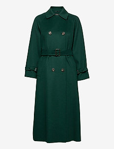 POTENTE - trenchcoats - dark green