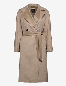 RESINA - trench coats - beige
