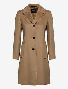 VINCITA - wool coats - camel