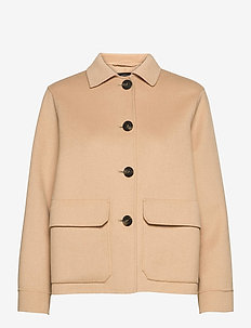 BIAVO - wool jackets - camel