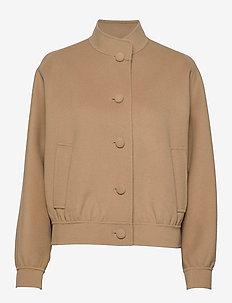 PATNER - wool jackets - camel