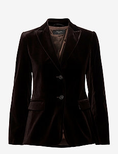 ALGHERO - blazers - dark brown