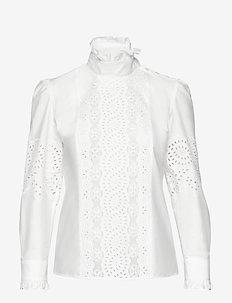 NOCINO - long-sleeved shirts - white
