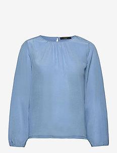 SCALATA - langærmede bluser - sky blue