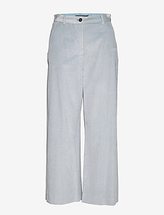 TOBIA - wide leg trousers - water