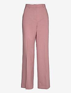 FAUNO - wide leg trousers - antique rose