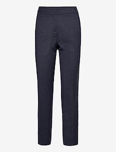 ONDATA - broeken med straight ben - navy