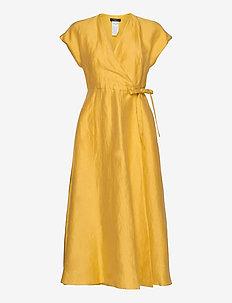 TERRENO - omlottklänning - yellow