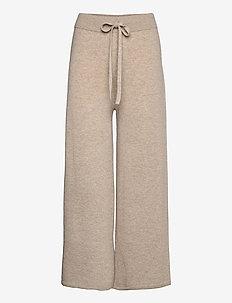 PAGELLA - wide leg trousers - beige